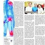 Kölner Stadtanzeiger 03.11.2009, neue Therapien bei chronischen Schmerzen