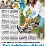 Woche der Frau 47/2013, Kochsalz-Spüllungen erlösten mich von den Beschwerden - ganz ohne OP