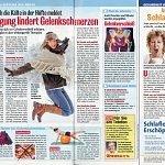 Woche heute 01/2013, Bewegung lindert Gelenkschmerzen