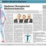 RP 03/2014, Moderne Therapien bei Rückenschmerzen
